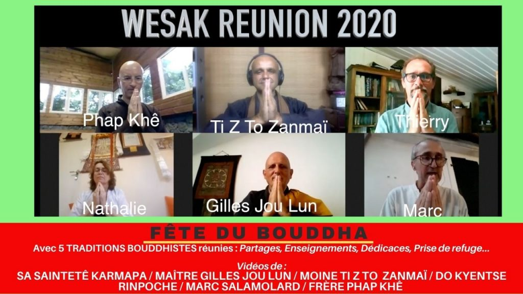 fête du bouddha, wesak bouddhiste à la Réunion, TI YAB ZEN, TO ZANMAï, TIBETAIN, ZEN,