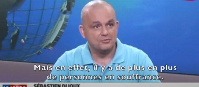 Sébastien Dijoux alias TI YAB ZEN Président de SOS SOLITUDE sur ANTENNE REUNION