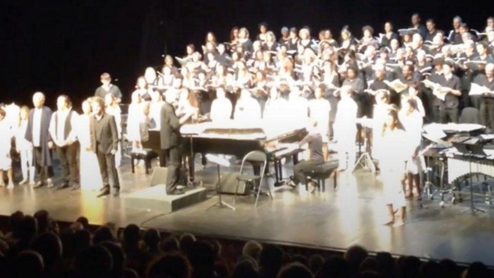 Choriste dans le chœur régional du conservatoire de musique de La Réunion